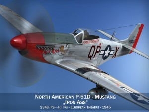 North American P 51D Mustang Iron Ass