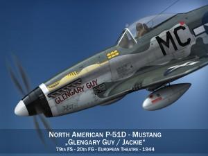 North American P51D Mustang Glengary Guy