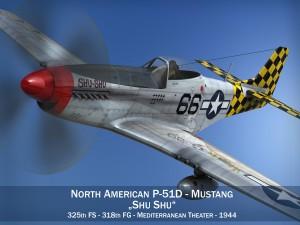 North American P51D Mustang Shu Shu