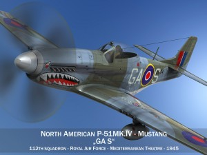 North American P 51K Mustang MKIV RAF