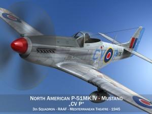 North American P51K Mustang MKIV RAAF