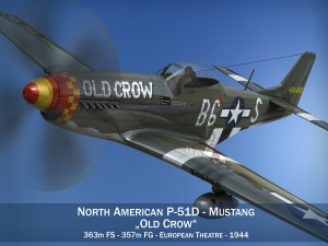 North American P51D Mustang Old Crow
