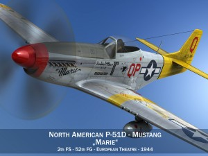 North American P51D Mustang Marie