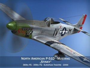 North American P51D Mustang Stinky