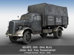 Opel Blitz 3ton Fuel Transporter