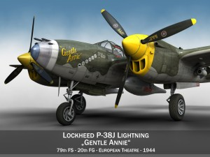 Lockheed P 38 Lightning Gentle Annie