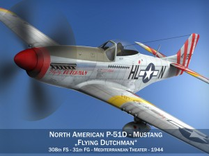 North American P 51D Flying Dutchman