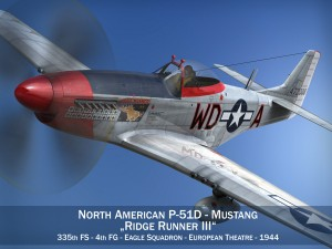 North American P51D Ridge Runner III