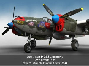 Lockheed P38 Lightning My little Pig