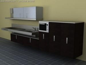 Kitchen block