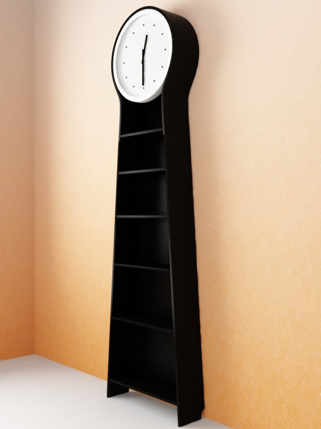 IKEA PS PENDEL Floor Clock 3D Model
