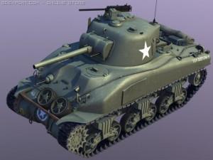 Sherman M4A1 tank