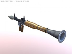 RPG 7 low poly