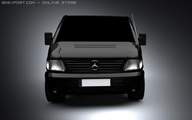 MercedesBenz Vito 3D Model