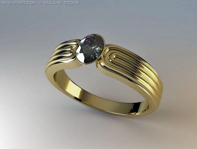 Blend Ring 3D Model