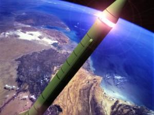 DPRK NoDongA MRBM Missile
