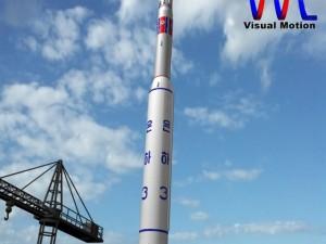 DPRK Unha3 SLV Rocket