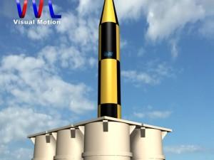 Israeli Arrow 3 Missile