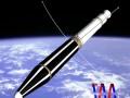 US NASA Explorer I Satellite