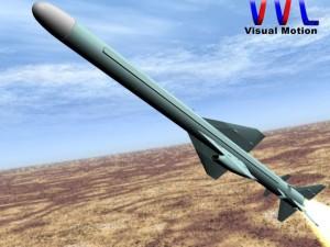 Iranian Qader Cruise Missile