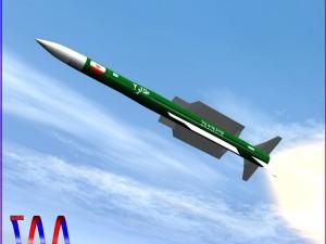 Iranian Taer-2 Missile