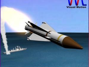 UK Sea Wolf Missile