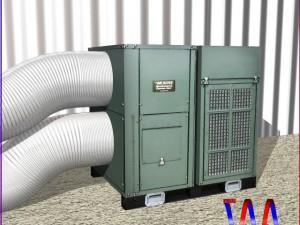 HVAC Air Rover Unit