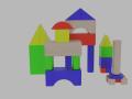 Toy Block 3D Model