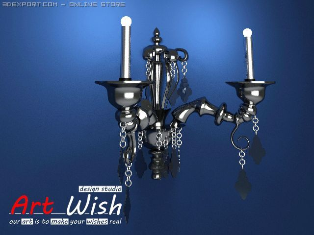Barovier  Toso Wall Lamp 3D Model