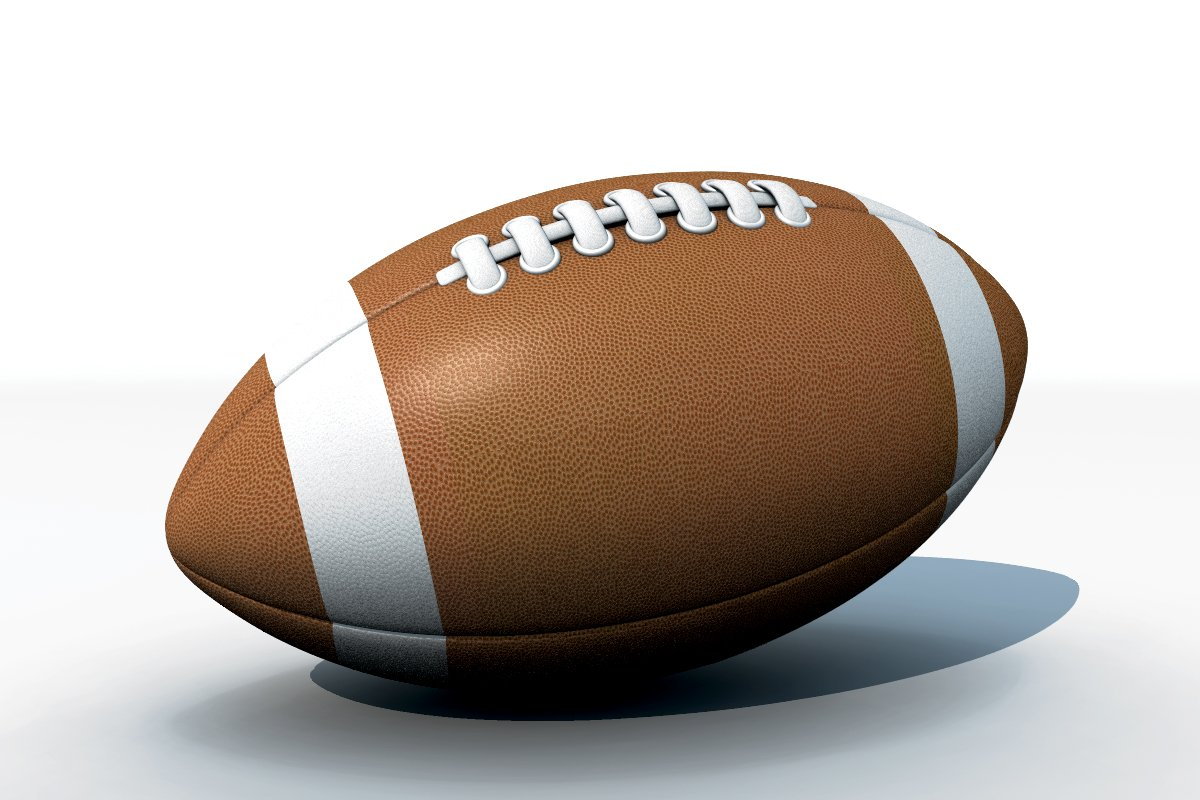 4f53177464 American Football 3D Model in Sports Equipment 3DExport