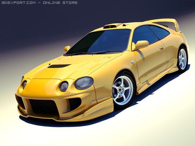 1994 Toyota Celica GT Four Veilside 3D Model
