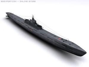 K21 WWII Soviet Submarine