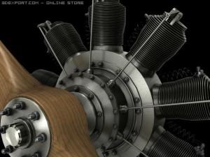 Gnome 9N rotary engine