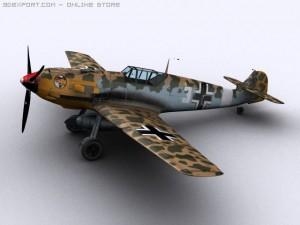 Messerschmitt BF109E7 Trop
