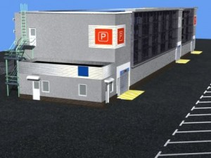 Car parking building