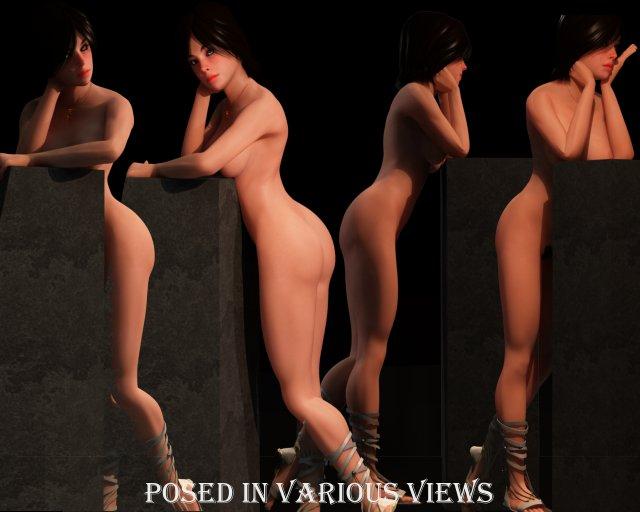Giuliana 3D Model