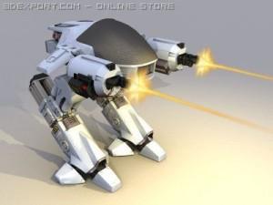 ED 209 enforcement droid