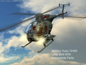 Army Huey Little Bird