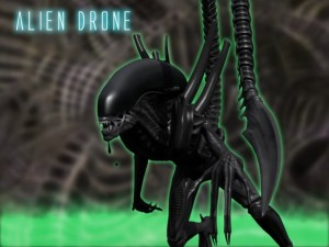 Rigged Alien Xenomorph Megapack