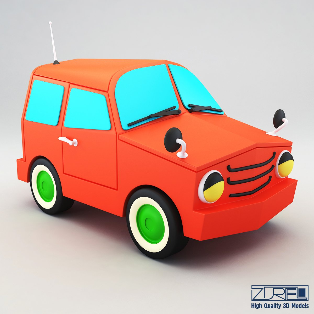 Suv Car 3d Model In Suv 3dexport