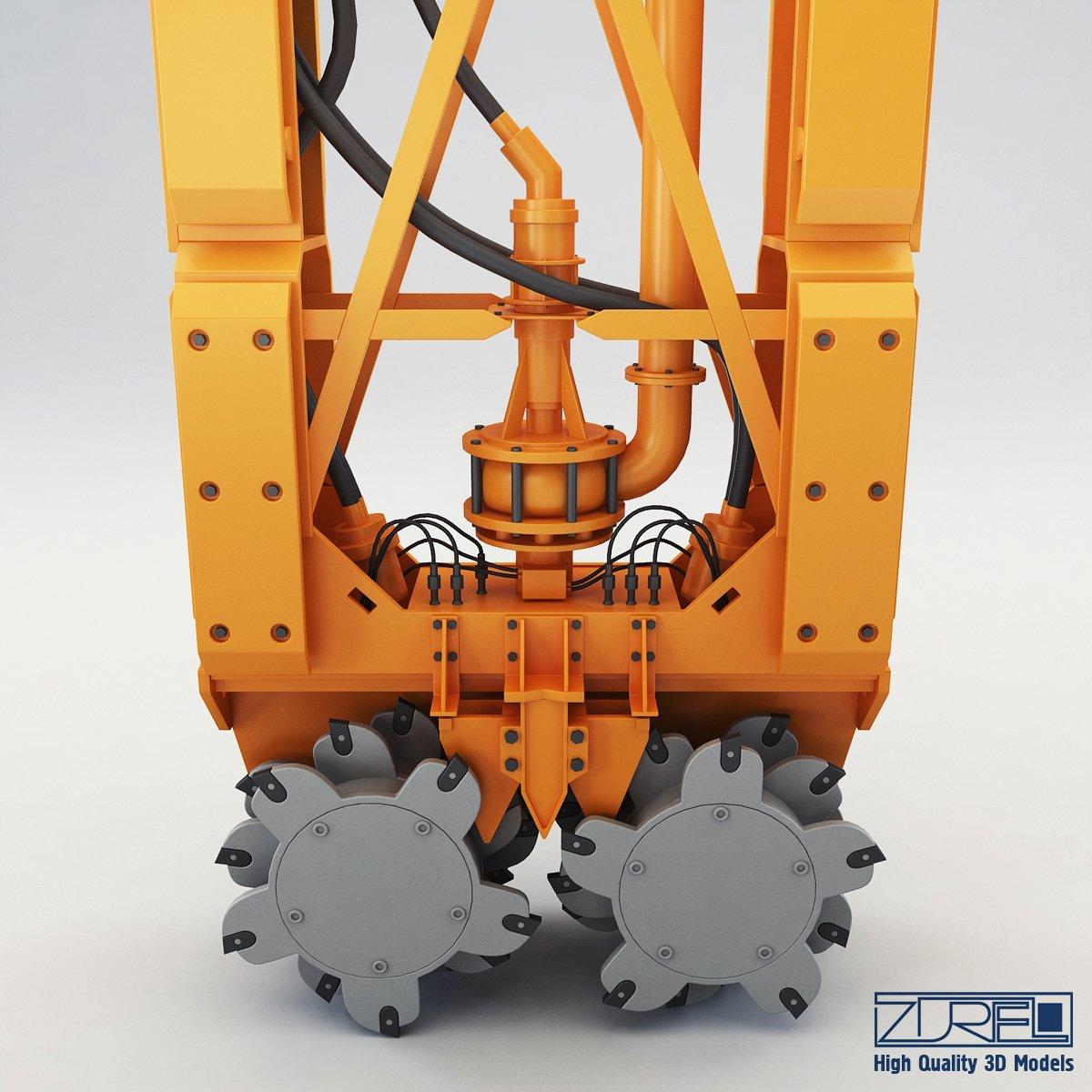 Drilling rig 3D Model in Parts 3DExport