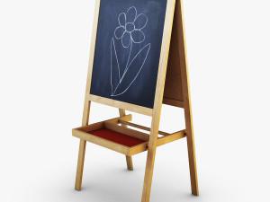 IKEA Mala Easel 3D Model