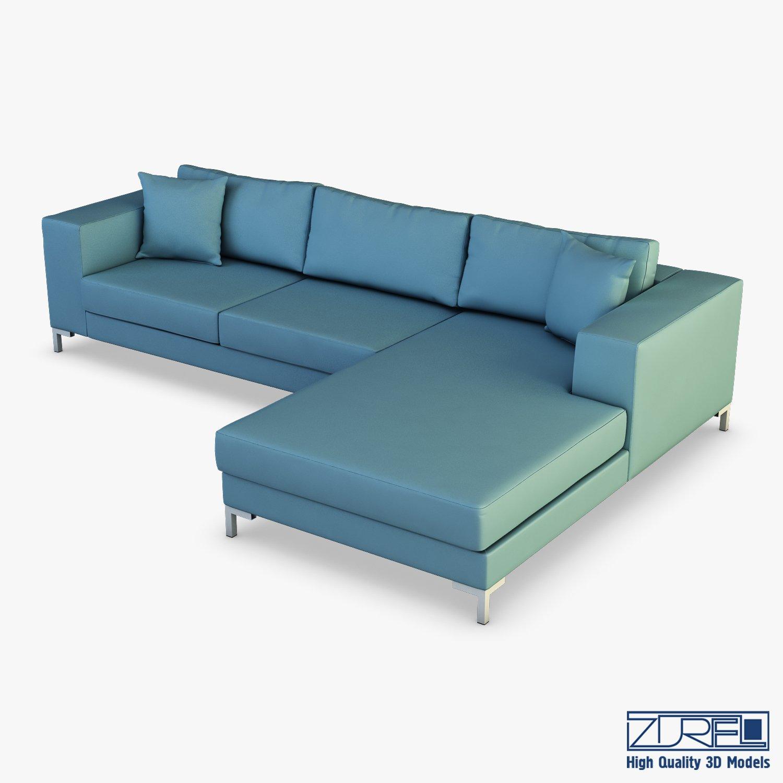 Solo Sofa 3d Model In Sofa 3dexport