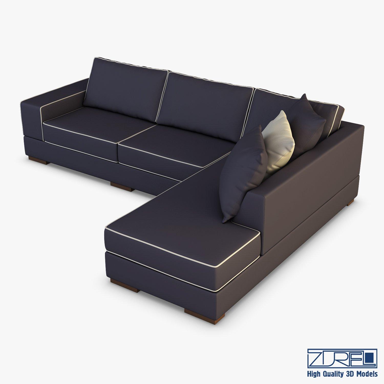 Oscar Sofa 3d Model In Sofa 3dexport