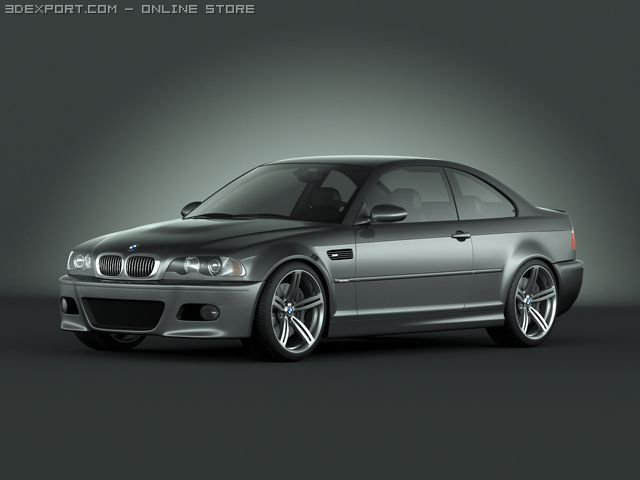 BMW M3 e46 3D Model