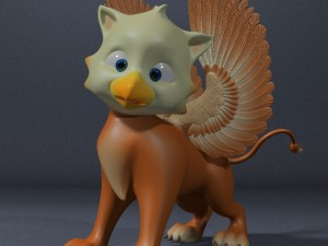 Baby Griffin RIGGED