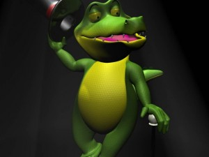 Cartoon Crocodile RIGGED