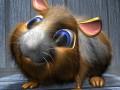 Cartoon Hamster Rigged