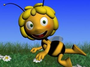 Maya the bee Rigged