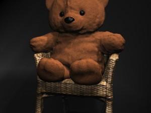 Teddy Bear on chair